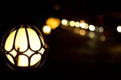 Oskarpa ljus av Istanbul arkivfoto