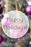 Oskarpa vertikala Rose Quartz Balls, smsar lyckliga ferier Arkivfoto