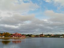 Oskarshamn a Swedish town Royalty Free Stock Photography