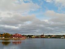 Oskarshamn a Swedish town Royalty Free Stock Photography