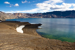 Oskjuvatn lake - Iceland Royalty Free Stock Photography