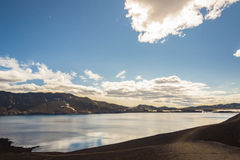 Oskjuvatn lake - Iceland. Stock Photo