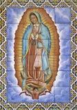 Oskuld av Guadalupe royaltyfria bilder