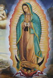 Oskuld Mary Guadalupe II Arkivfoto