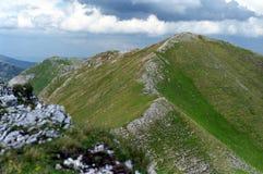 Oslea ridge. The main Oslea ridge with highest peak Stock Images