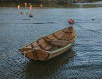 Oslo - łódź i kaczki Obrazy Stock