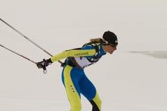 Oslo - 24 de febrero: Campeonato nórdico del esquí del mundo de FIS, Fotografía de archivo