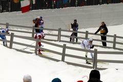 Oslo - 24 februari: Het Noordse Kampioenschap van de Ski van de Wereld FIS, Stock Afbeelding