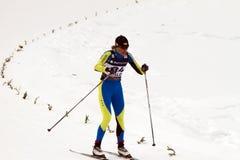 Oslo - 24 februari: Het Noordse Kampioenschap van de Ski van de Wereld FIS, Stock Foto