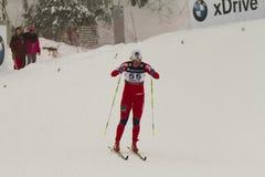 Oslo - 24 februari: Het Noordse Kampioenschap van de Ski van de Wereld FIS, Royalty-vrije Stock Afbeelding