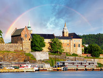 Oslo, Akershus fort, Norway stock photography