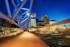 Oslo alla notte fotografia stock libera da diritti