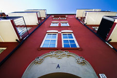 Oslo apartments 2. Apartments in downtown Oslo. The street is called Dovregata Stock Images