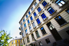 Oslo apartments Stock Images