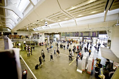 Oslo-Bahnhof Stockfoto