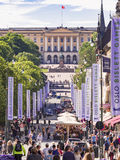 Oslo during Bislett Games Royalty Free Stock Photo