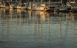 Oslo - boats on the fjord. Stock Image