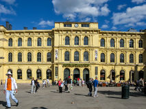 Oslo Central Station, Jernbanetorget, Norway Stock Photography