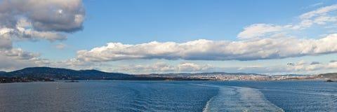 Oslo, city and coast panorama Stock Photo
