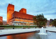 Oslo city hall, Norway Stock Photography