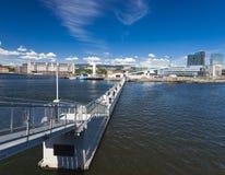 Oslo, del centro, Bjoervia Norvegia Immagine Stock Libera da Diritti