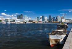 Oslo del centro - la Norvegia Fotografie Stock