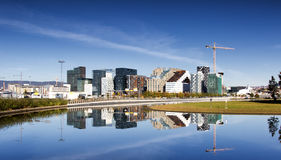 Oslo, Downtown, Bjoervia Norway royalty free stock photography