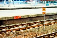 Oslo-Eisenbahntransportstations-Illustrationshintergrund Stockbild