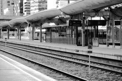 Oslo-Eisenbahntransportstations-Illustrationshintergrund Lizenzfreie Stockfotos