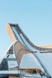 Saut à skis de Holmenkollen Photos stock