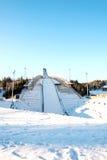 Saut à skis de Holmenkollen à Oslo Images stock