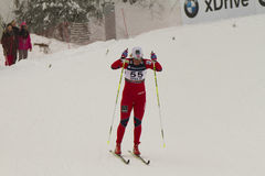 Oslo - FEB 24: FIS Nordic World Ski Championship, Royalty Free Stock Photo