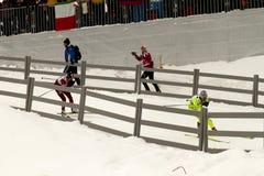 Oslo - FEVEREIRO 24: Campeonato nórdico do esqui do mundo de FIS, Foto de Stock Royalty Free