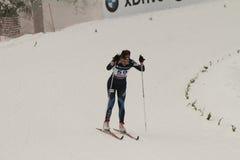 Oslo - FEVEREIRO 24: Campeonato nórdico do esqui do mundo de FIS, Imagens de Stock