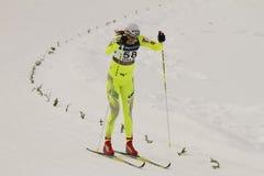 Oslo - FEVEREIRO 24: Campeonato nórdico do esqui do mundo de FIS, Fotos de Stock
