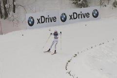 Oslo - FEVEREIRO 24: Campeonato nórdico do esqui do mundo de FIS, Foto de Stock