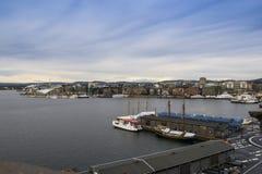 Oslo fjärd Royaltyfria Bilder