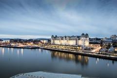 Oslo fjärd Arkivfoton