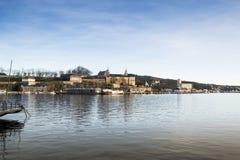 Oslo fjärd Royaltyfri Fotografi