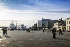 Oslo fjärd Fotografering för Bildbyråer