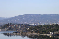 Oslo Fjord. On a Spring Day Stock Photography