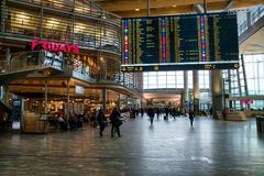 Oslo flygplats Royaltyfri Foto