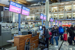 OSLO GARDERMOEN, NORWAY - November 3: Oslo Gardermoen Internatio Royalty Free Stock Images