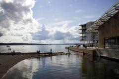 Oslo hamn Fotografering för Bildbyråer