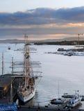 Oslo harbor Royalty Free Stock Photo