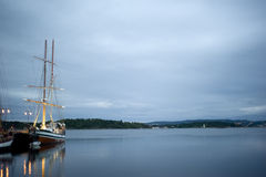 Oslo harbor Stock Photography