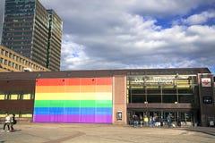 Oslo-Hauptbahnhof Stockfoto