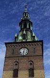 Oslo katedry wierza dzwon Fotografia Stock