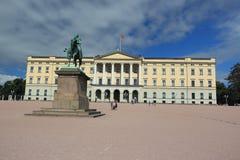 Oslo - kunglig slott Royaltyfri Fotografi