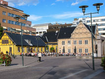 Oslo Kunstforening Fine Art Gallery in Radhusgata, Royalty Free Stock Images